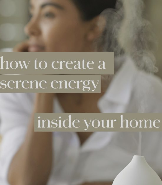 How to create a relaxing environment inside your home — Vitruvi essential oil diffuser
