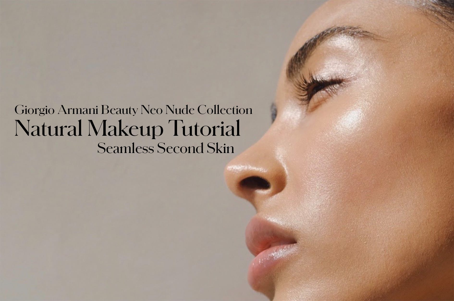 Mandy Madden Kelley x Giorgio Armani Neo Nude Collection