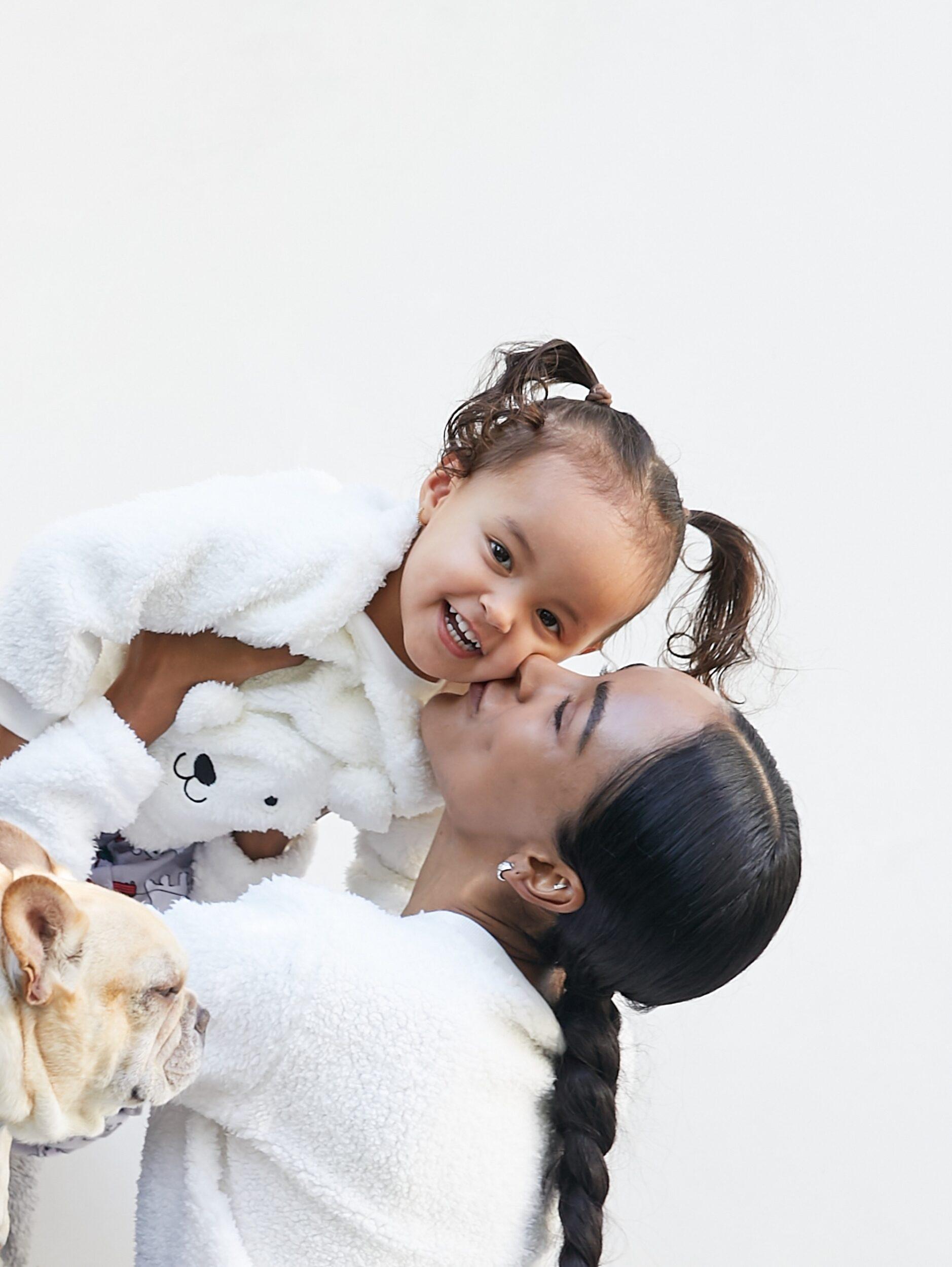 Mandy Madden Kelley and daughter Kaia